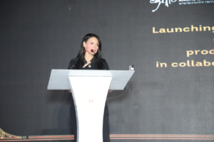 Tourism Minister Rania Al Mashat Delivers a Speech