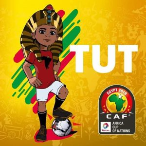 """AFCON 2019 Mascot """"King TUT"""""""