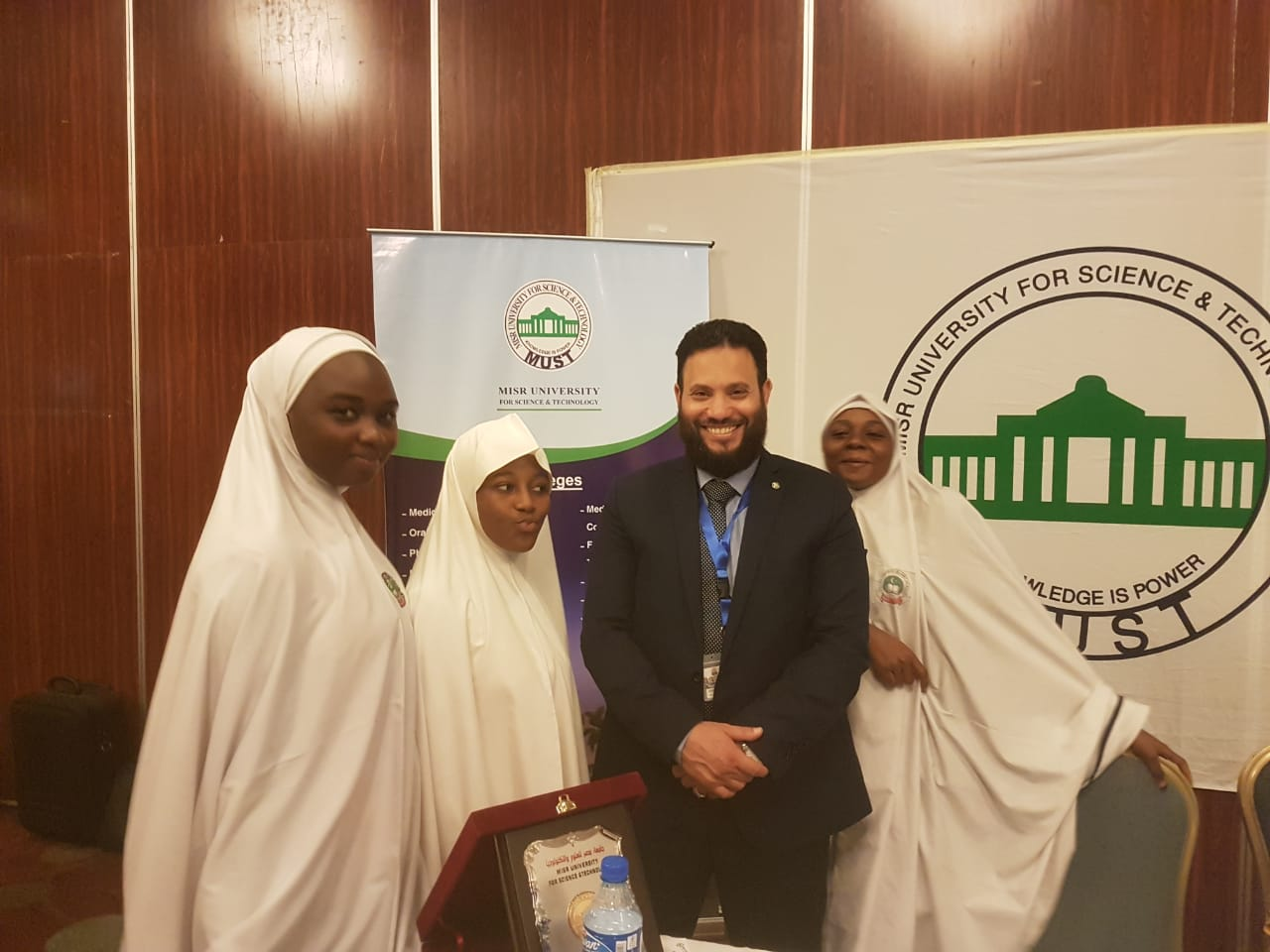 At forum of higher education in Nigeria