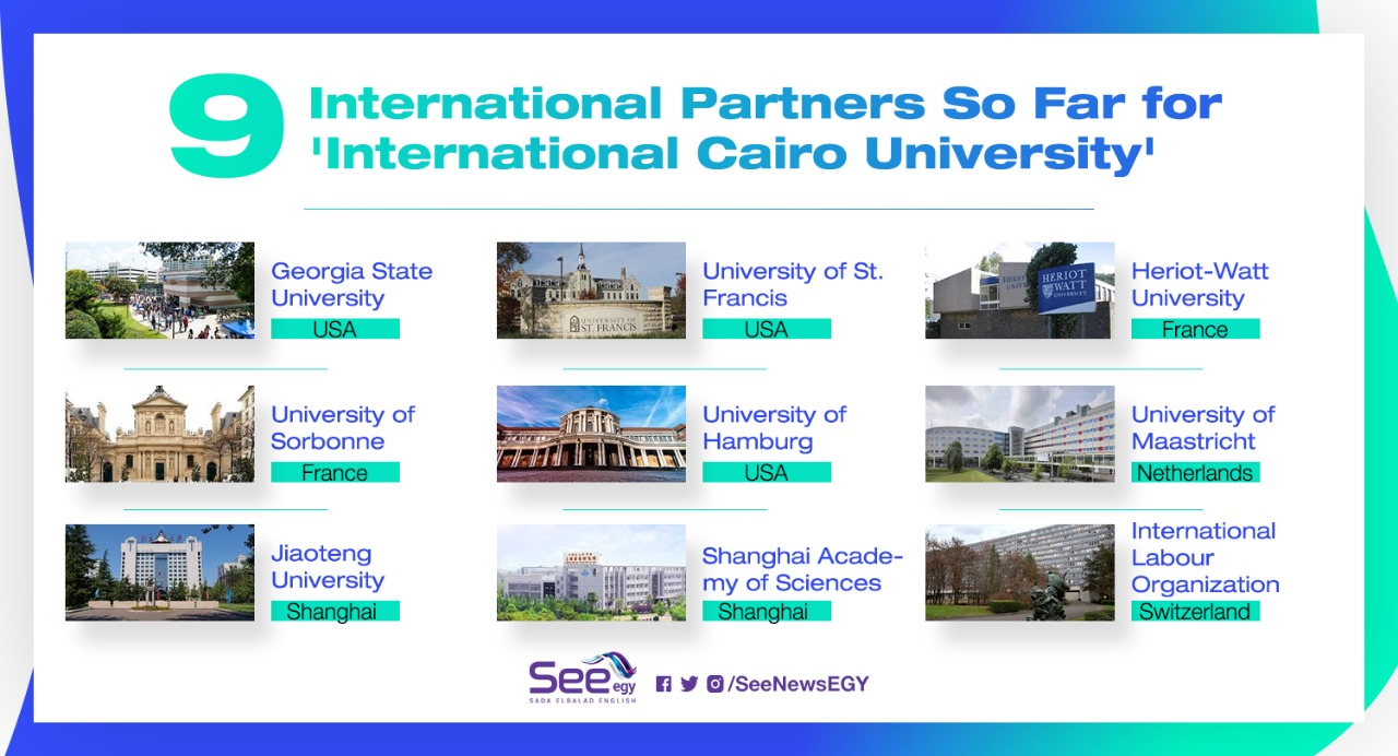 As the international branch of Cairo University is under construction