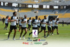 Egypt's national team prepare for the 2019 AFCON