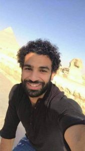 Mo-Salah Spend his Holiday in Egypt