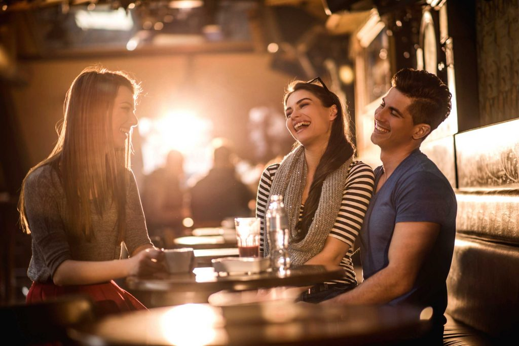 Laughter among Friends Improves Communication