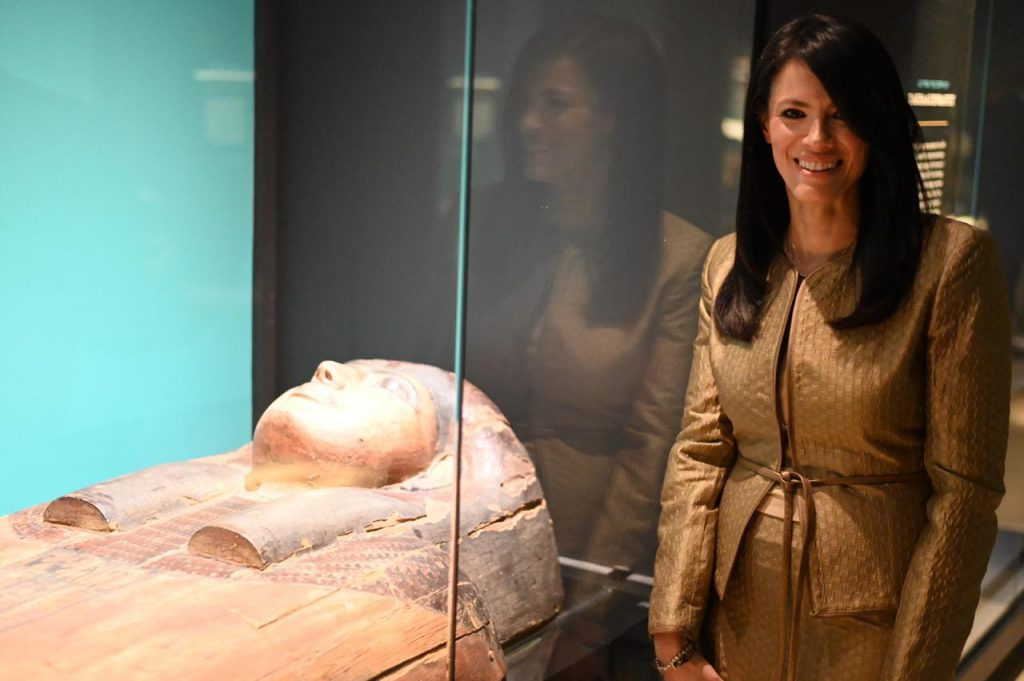 The Minister with An Ancient Egyptian Queen's Mummy