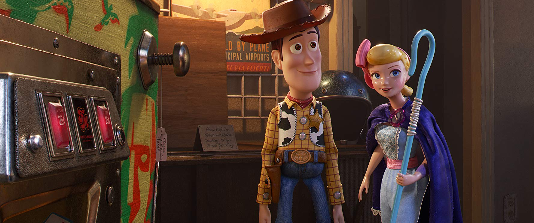 Tom Hanks and Annie Potts in Toy Story 4