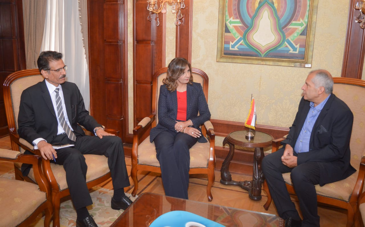 Salama thanked the minister for her efforts