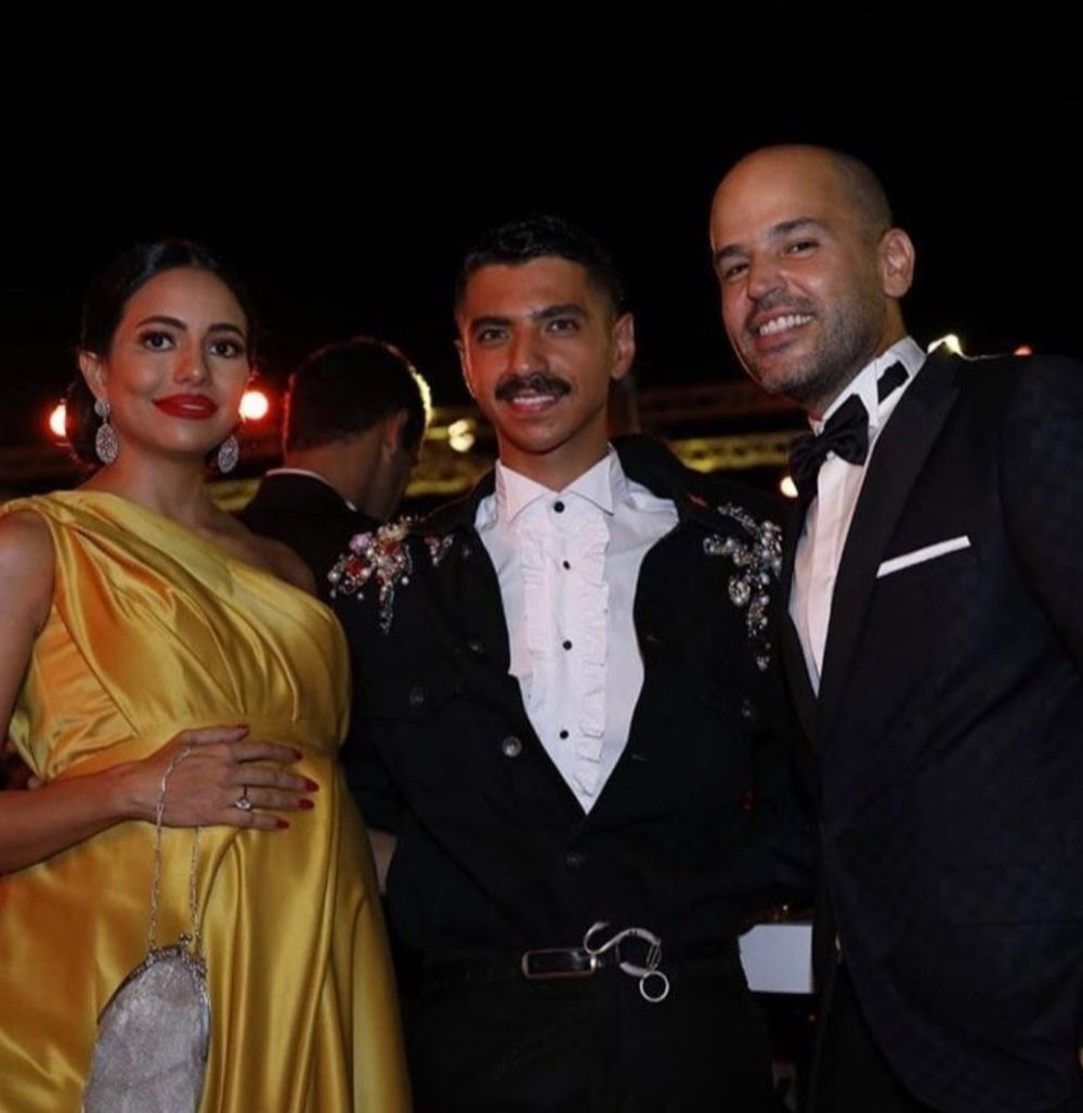Kojak with Abu and his wife