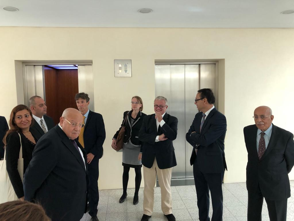GUC's Mansour, Univ. Delegation Discuss Academic Excellence in Germany