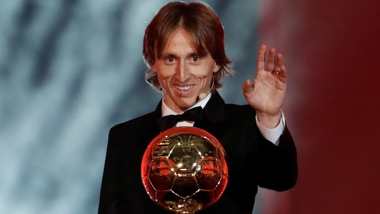 Luka Modric won 2018 Ballon d'Or