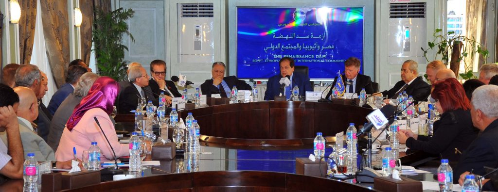 Aboul Enein Discusses with Diplomats and Legal Experts