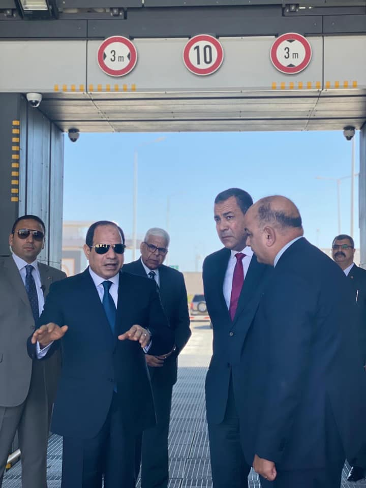 The President Directs Security Officials in Sharm El Sheikh
