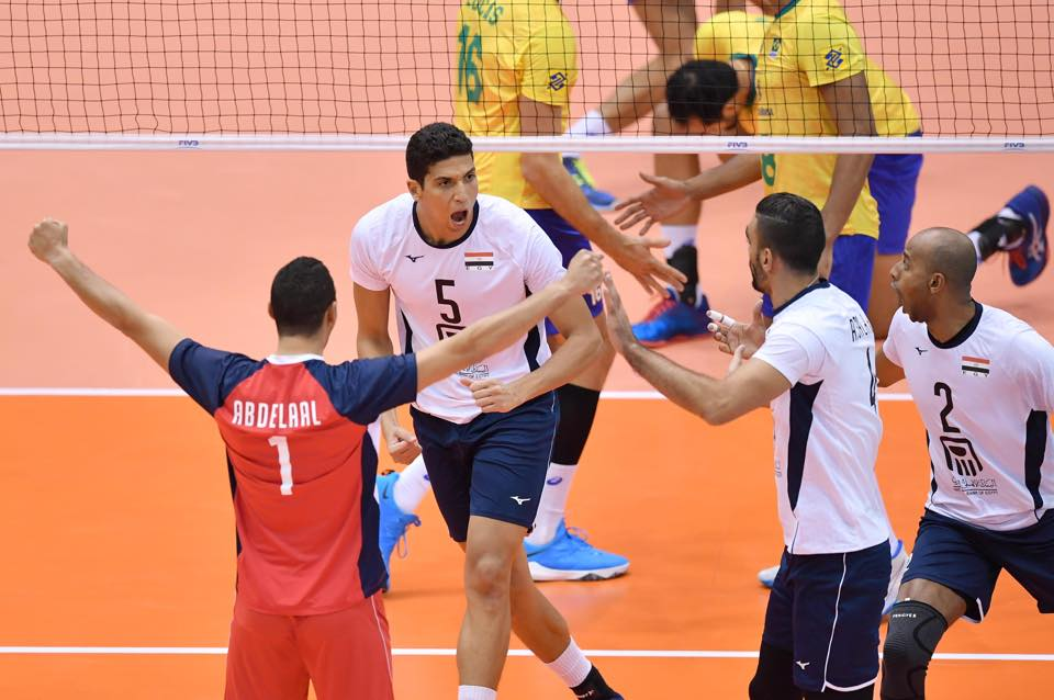 The Egyptian Volleyball National Team