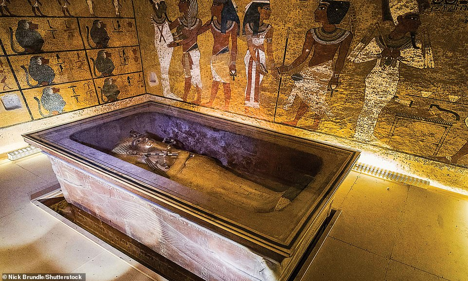 Tutankhamun's Tomb in The Valley of The Kings