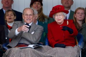 Prince Philip and the Queen