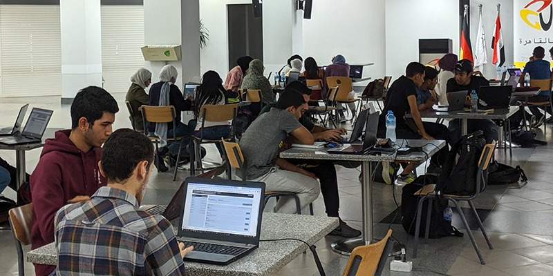 Gucain students in the largest Competitiont