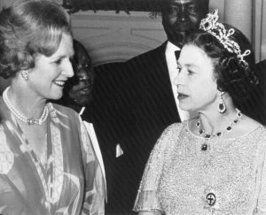 Queen and Thatcher didn't have easy communication