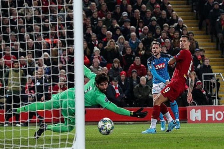 Mertens silenced the Anfiedl Venue by putting Napoli Ahead