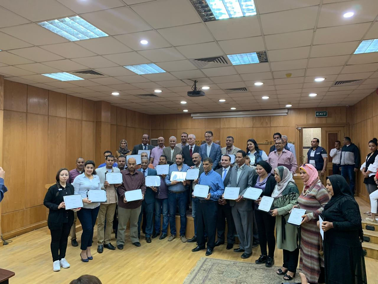 GUC Honors Youth Leaders in Luxor Governorate