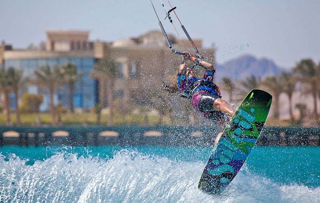 Kitesurfing in Egypt