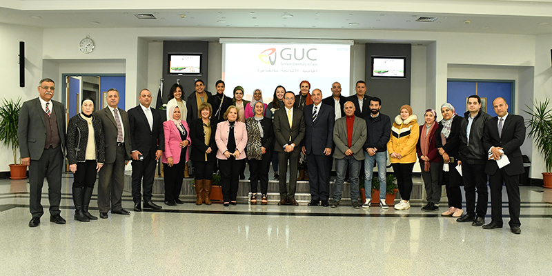 GUC Cooperates with South Sinai to Implement Egyptian Identity Project