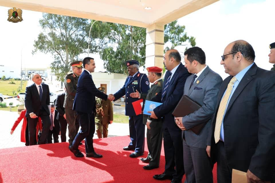 Italian Foreign Minister Di Maio Visits Libya and Meets with Libyan National Army Commander Khalifa Haftar