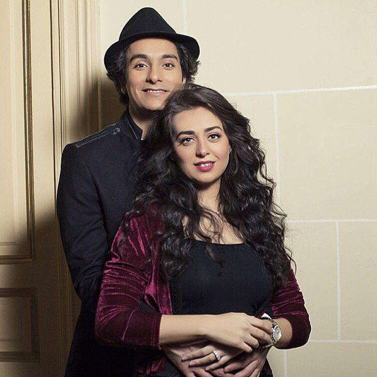 Heba Magdi and Mohamed Mohsen