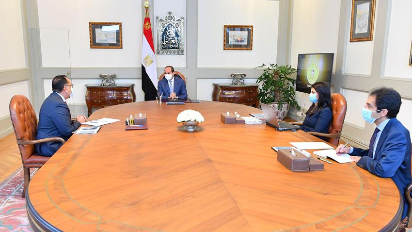 Sisi Calls for Best Use of International Institutions' Funds