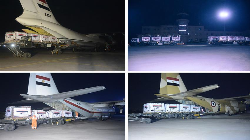 Egypt Sends More Aid to Sudan for 4th Day in a Row