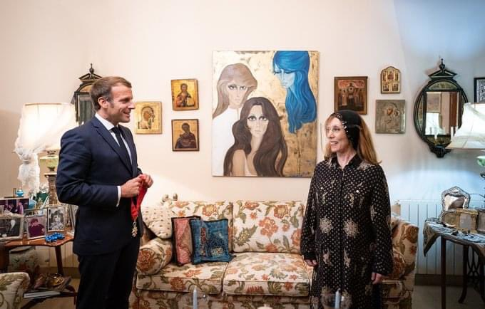 Macron and Fairuz