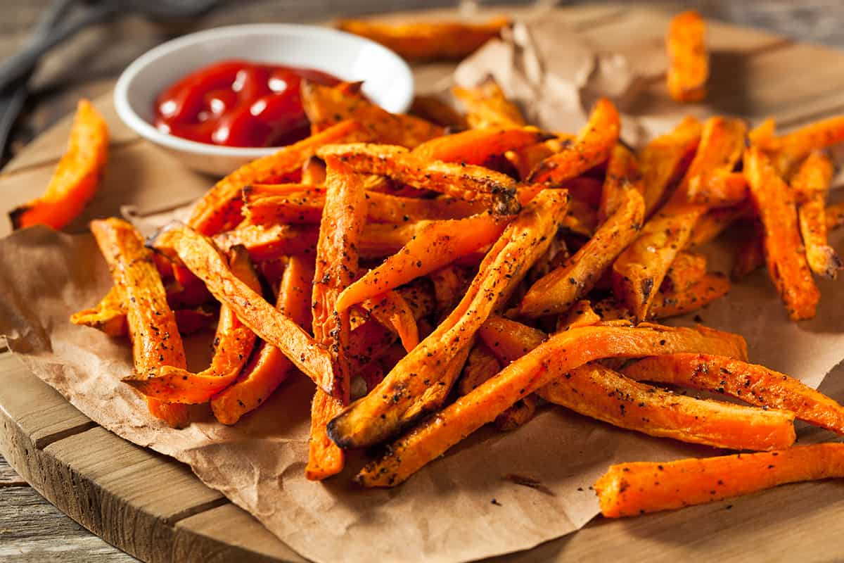 Sweet potato fries-fall