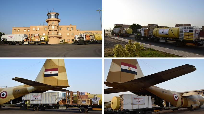Egypt Sends Sudan 2 Planes Carrying with Bread Production Lines