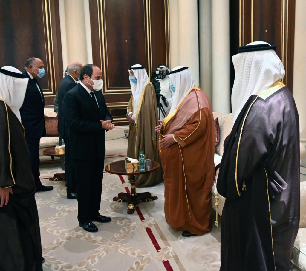 In 10 Pics: Sisi Back Home After Meeting Kuwait Emir