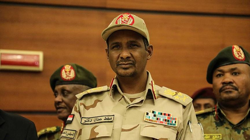 Hemedti: Sudan Wants Relations with Israel, not Normalization