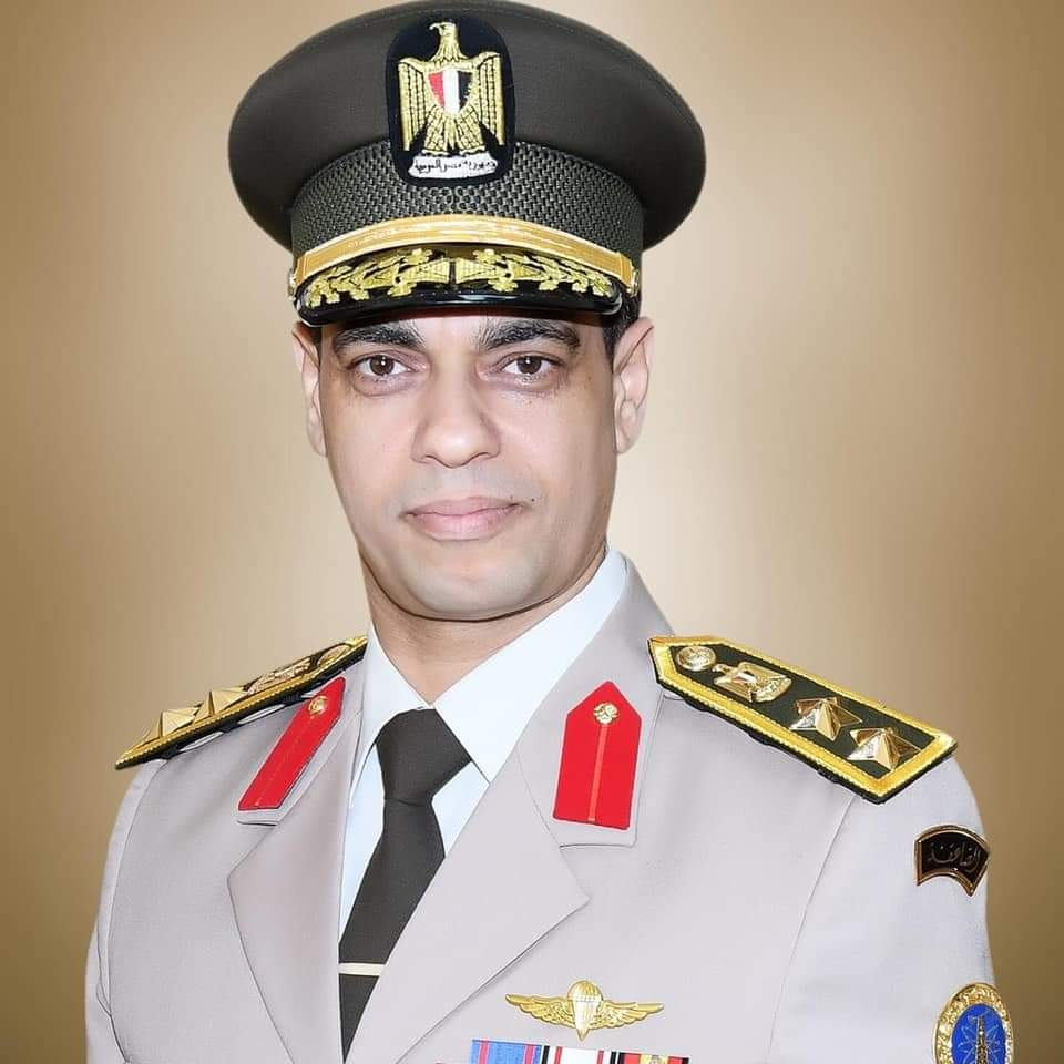 New Spokesman of Egypt's Armed Forces Colonel of Staff of War Gharib Abdel Hafez