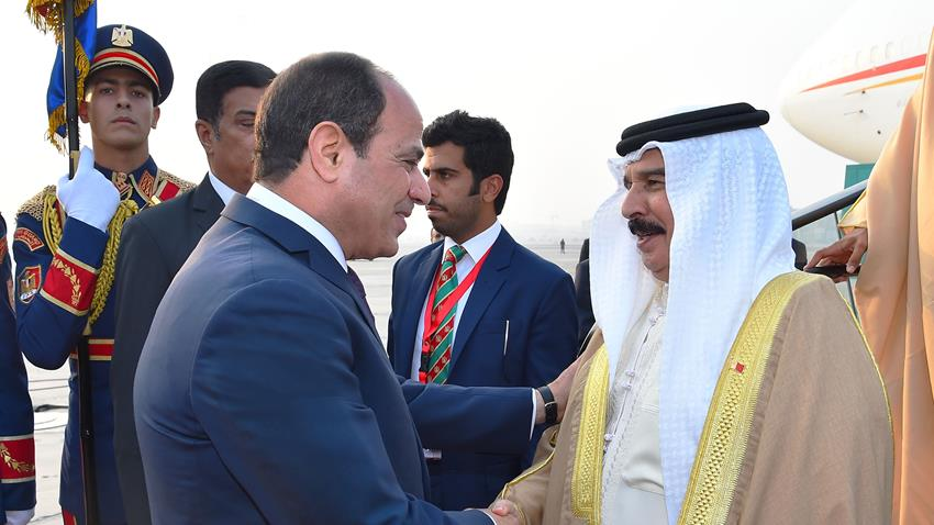 Sisi, Bahrain's King to Hold Bilateral Talks in Cairo
